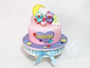 cupcakegirl.com.au - Giggle & Hoot Cake (1)