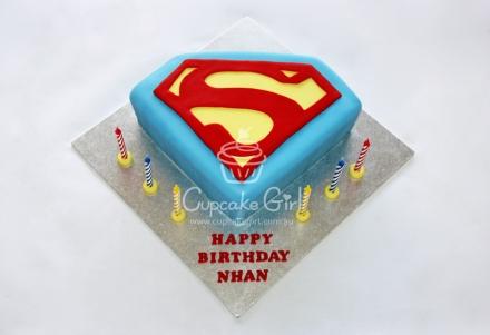 Cupcakegirl.com.au -Superman