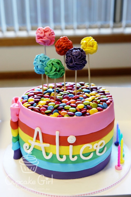 cupcakegirl.com.au - Alice's Rainbow Cake (3)