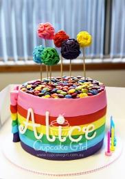 cupcakegirl.com.au - Alice's Rainbow Cake (7)