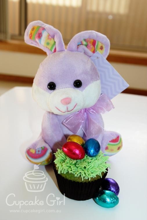 cupcakegirl.com.au - easter bunny