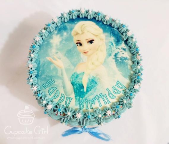 cupcakegirl.com.au - Elsa Cake