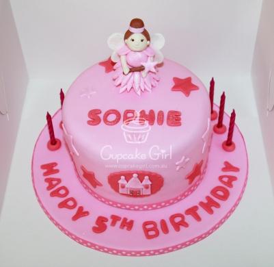 cupcakegirl.com.au - Fairy Princess Cake (1)