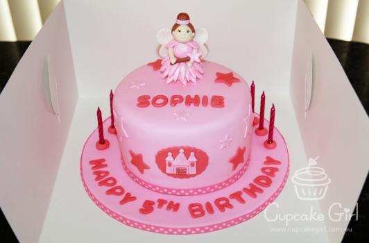 cupcakegirl.com.au - Fairy Princess Cake (2)