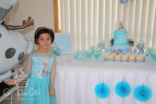 cupcakegirl.com.au - Frozen Party (1)