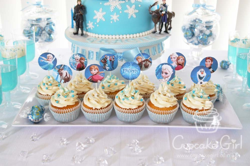 cupcakegirl.com.au - Frozen Party (15)