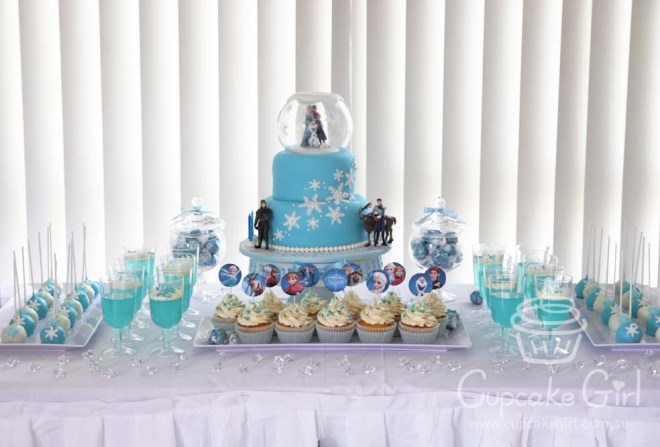 cupcakegirl.com.au - Frozen Party (5)