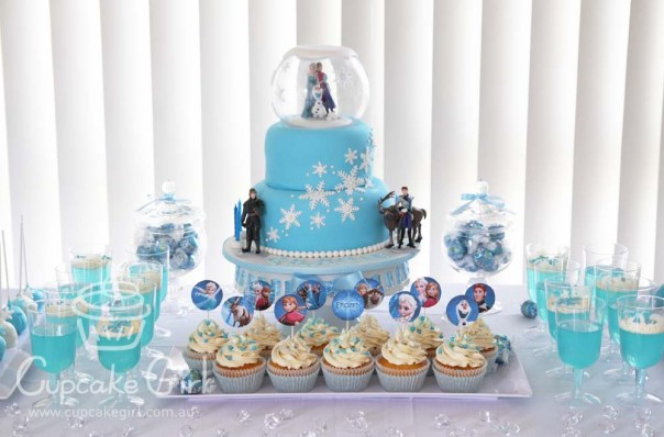 cupcakegirl.com.au - Frozen Party (6)