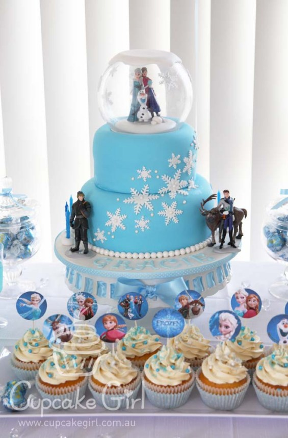 cupcakegirl.com.au - Frozen Party (7)