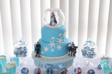 cupcakegirl.com.au - Frozen Party (8)
