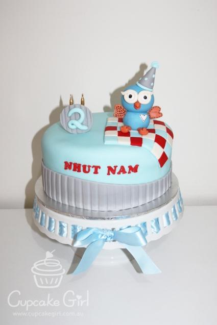 cupcakegirl.com.au - Giggle & Hoot Cake (2)