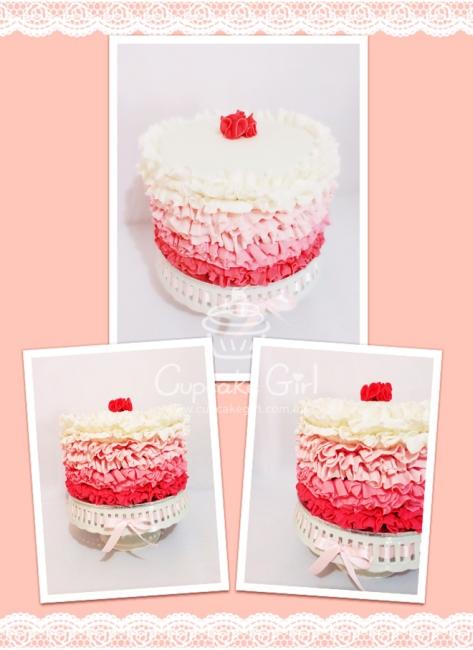 cupcakegirl.com.au - Ruffle Cake (1)