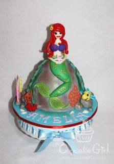 cupcakegirl.com.au - The Little Mermaid Cake (1)