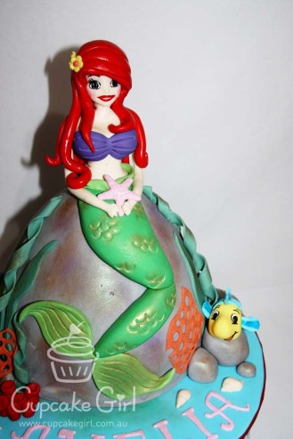 cupcakegirl.com.au - The Little Mermaid Cake (3)