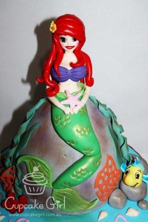 cupcakegirl.com.au - The Little Mermaid Cake (4)