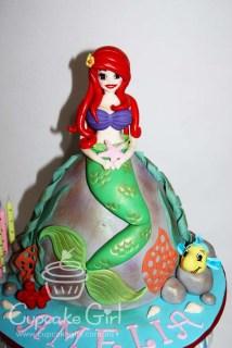 cupcakegirl.com.au - The Little Mermaid Cake (5)