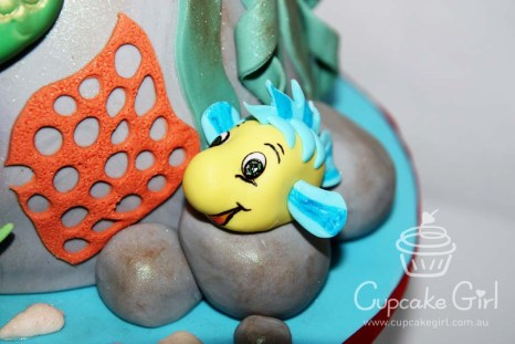 cupcakegirl.com.au - The Little Mermaid Cake (7)