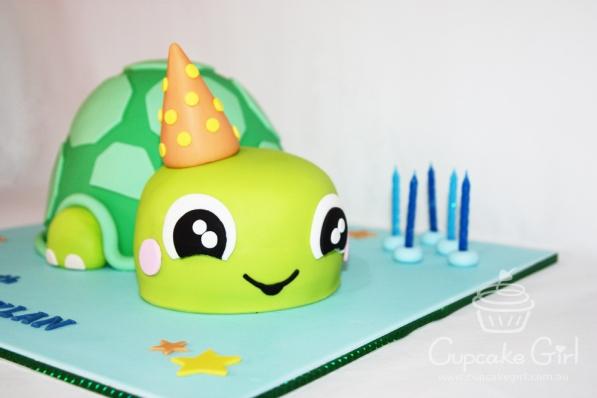 cupcakegirl.com.au - Turtle Cake (1)