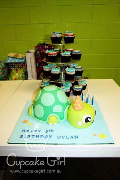 cupcakegirl.com.au - Turtle Cake (21)