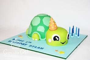 cupcakegirl.com.au - Turtle Cake (3)