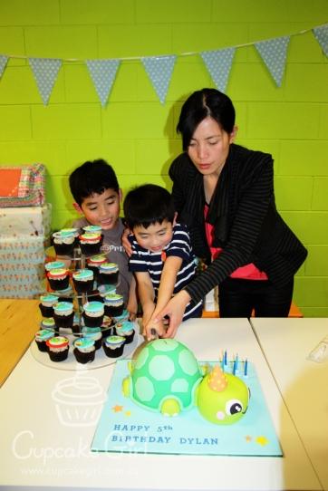 cupcakegirl.com.au - Turtle Cake (31)