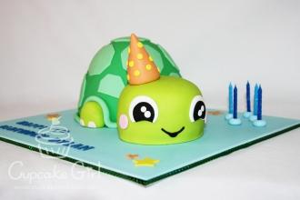 cupcakegirl.com.au - Turtle Cake (4)