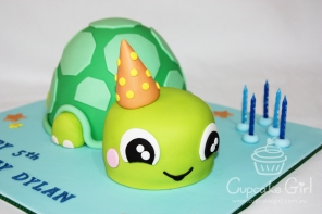 cupcakegirl.com.au - Turtle Cake (5)