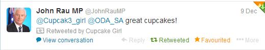 cupcakegirl.com.au - Twitter John Rau
